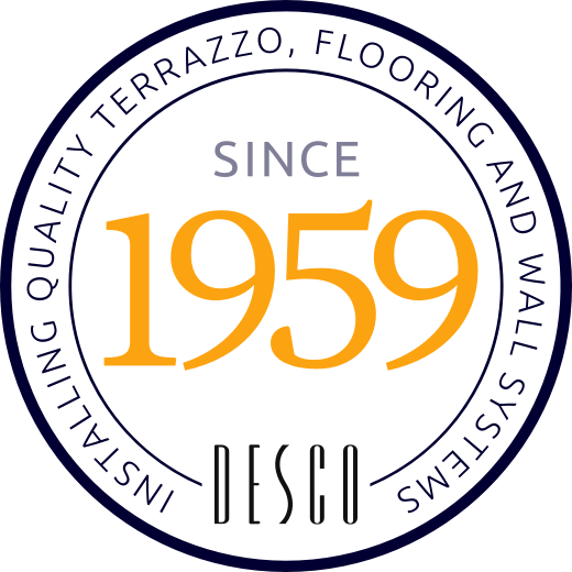 An icon that reads Desco since 1959.
